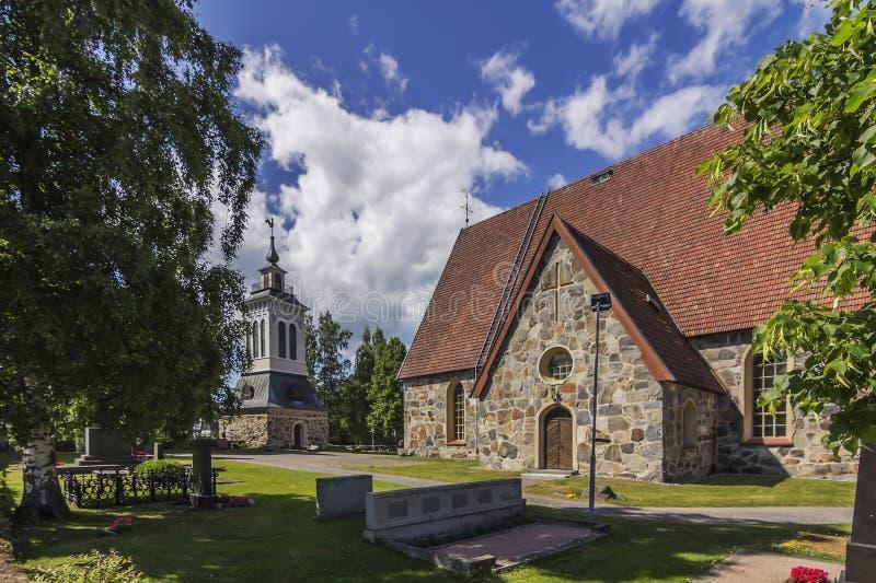 Igreja de pedra velha imagens de stock