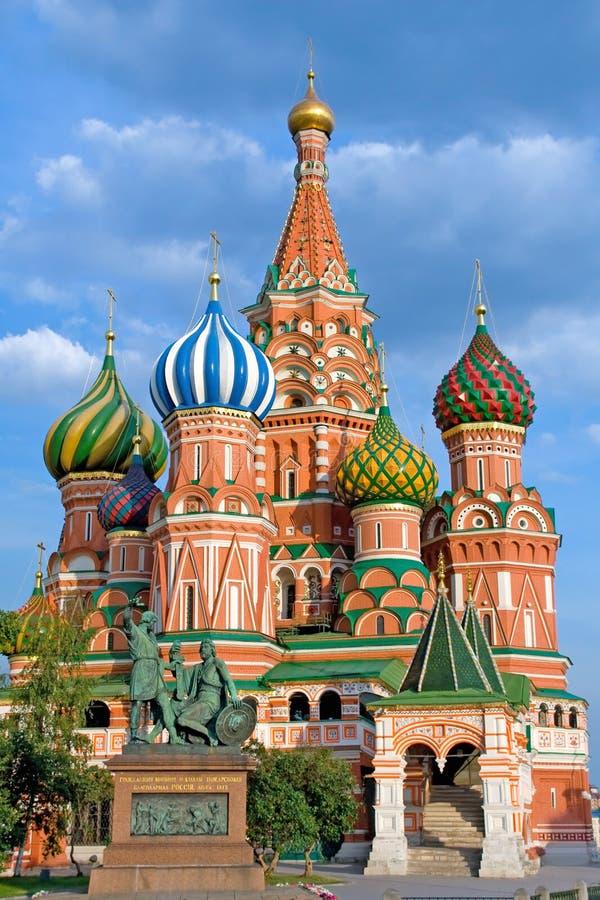 Igreja de Pokrovsky imagem de stock royalty free