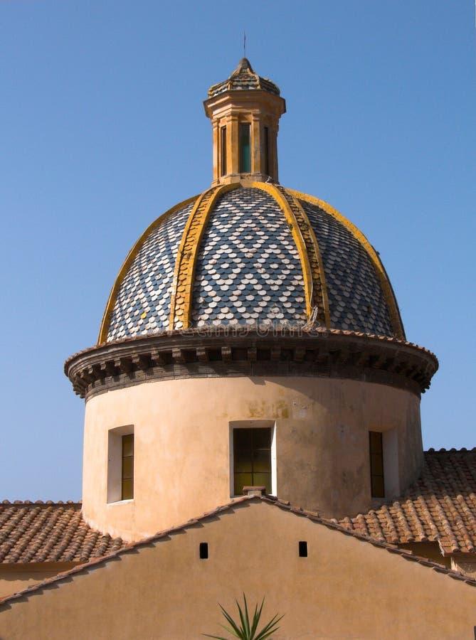 Igreja de Praiano de San Gennaro fotos de stock royalty free