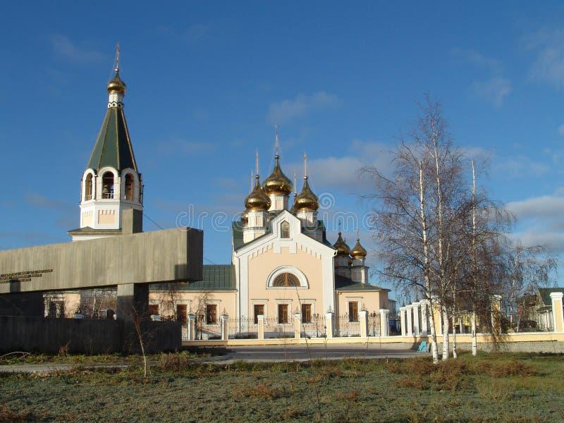 Igreja de Preobrajensky foto de stock