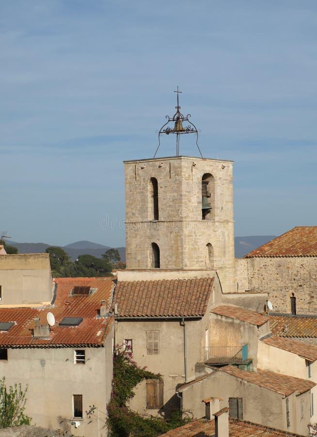 Igreja de Provence fotografia de stock