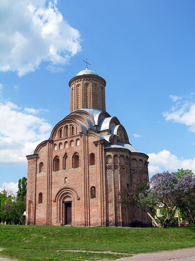 Igreja de Pyatnitskaya, Chernigov, Ucrânia imagem de stock