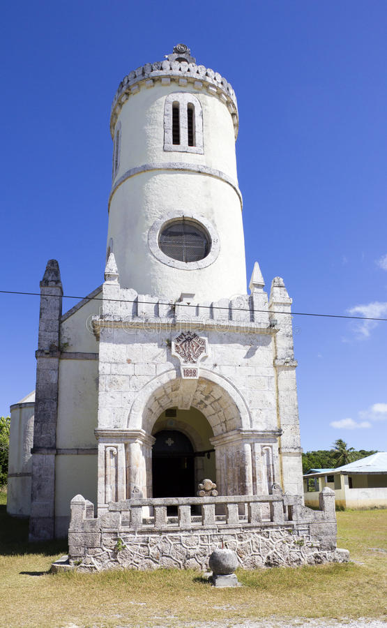 Igreja de Qanono fotografia de stock royalty free