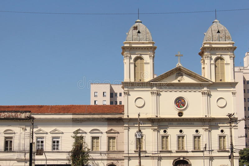 Igreja de São Paulo fotos de stock royalty free