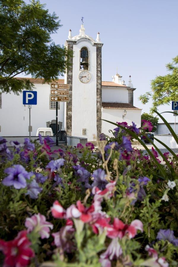 Igreja de São de Brás de Alportel foto de stock royalty free