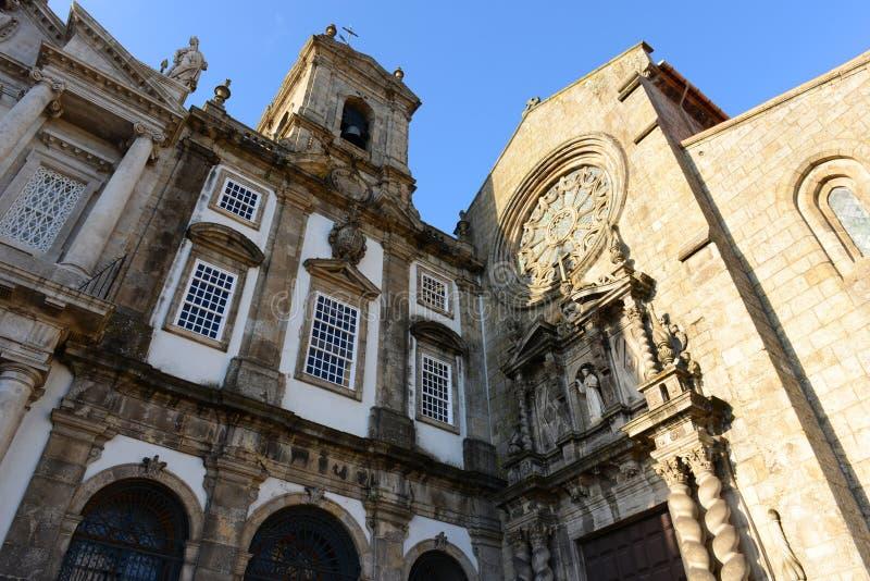 Igreja de São Francisco, Porto, Portugal photographie stock libre de droits