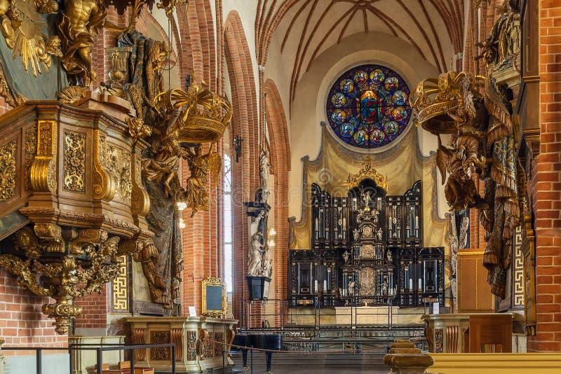 Igreja de São Nicolau, Éstocolmo imagem de stock