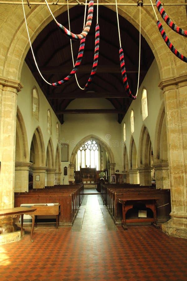 Igreja de São Nicolau, Sandhurst, Sussex fotos de stock royalty free