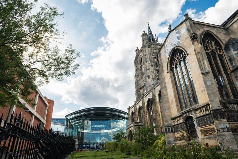 Igreja de São Pedro Mancroft em Norwich imagens de stock royalty free