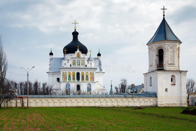 A igreja de Saint Boris e Gleb em Mogilev fotos de stock royalty free