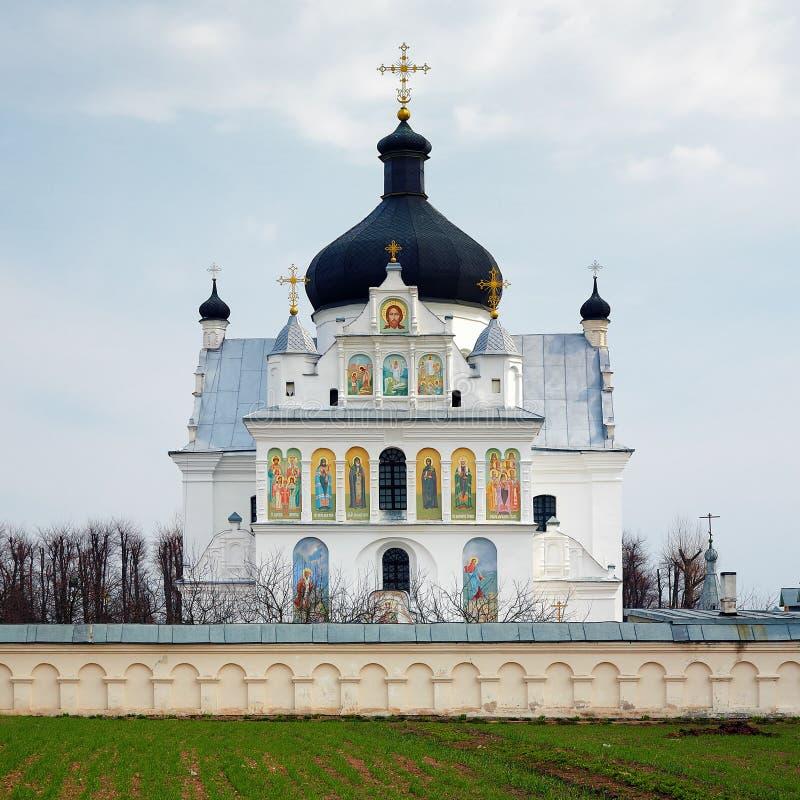 A igreja de Saint Boris e Gleb em Mogilev imagens de stock
