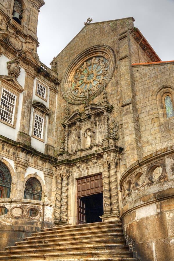 Igreja de Saint Francis em Porto imagem de stock royalty free