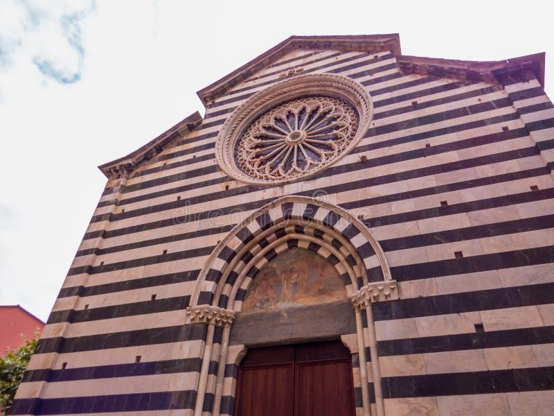 Igreja de Saint John Baptist, Monterosso foto de stock royalty free