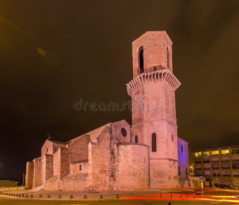 Igreja de Saint Laurent em Marseille Provence, França fotos de stock royalty free