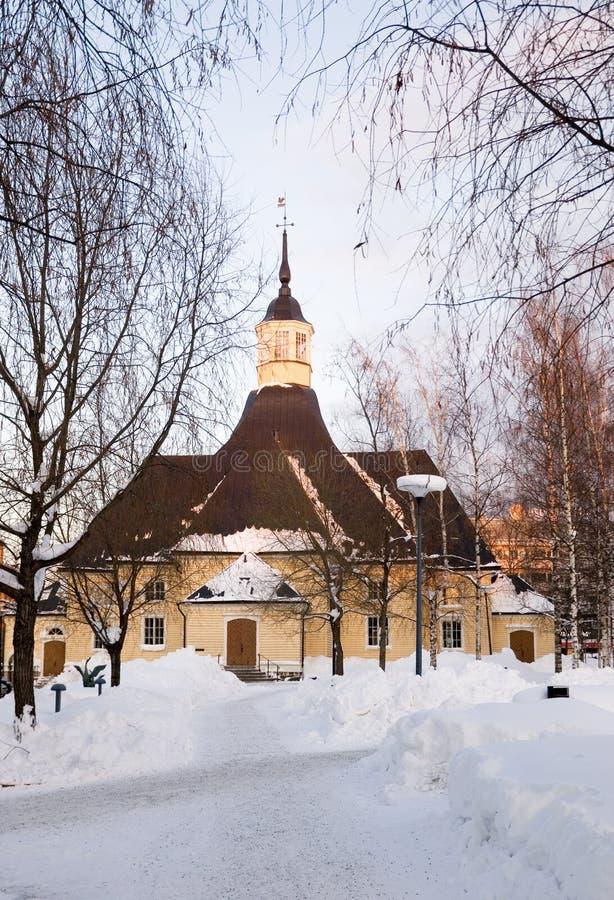Igreja de Saint Mary - Lappeenranta, Finlandia fotos de stock royalty free