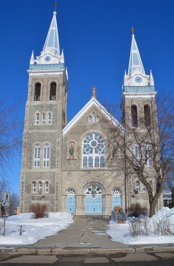 Igreja de Saint-Romualdo foto de stock