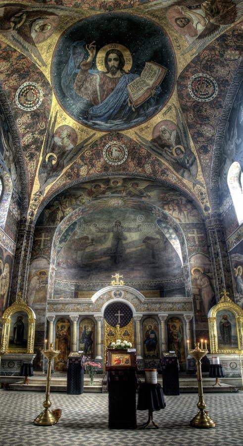 Igreja de Samsonovskja imagem de stock