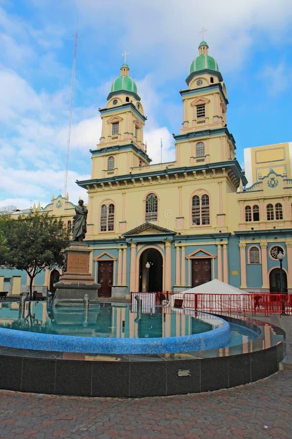 Igreja de San Francisco em Guayaquil, Equador foto de stock