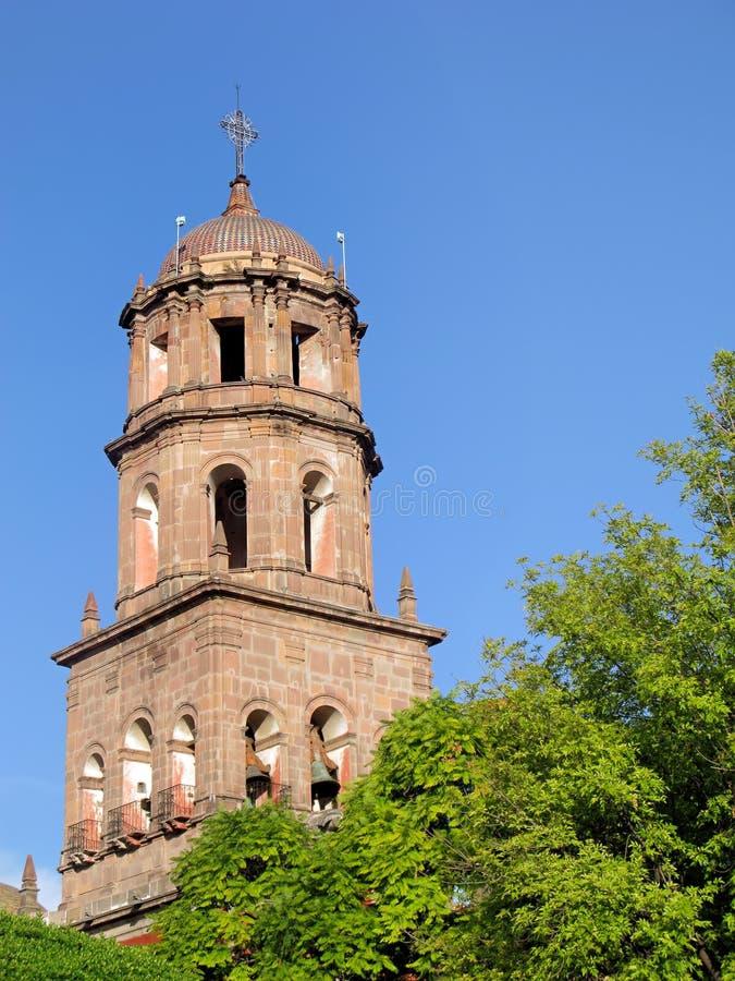 Igreja de San Francisco em Queretaro. imagem de stock