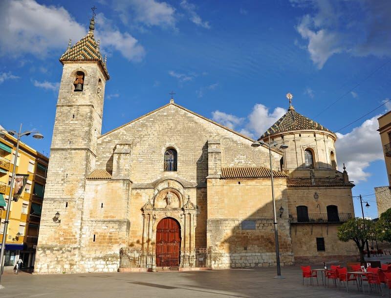 Igreja de San Mateo província em Lucena, Córdova, a Andaluzia, Espanha fotos de stock royalty free