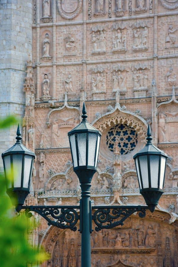 Igreja de San Pablo em Valladolid imagens de stock royalty free