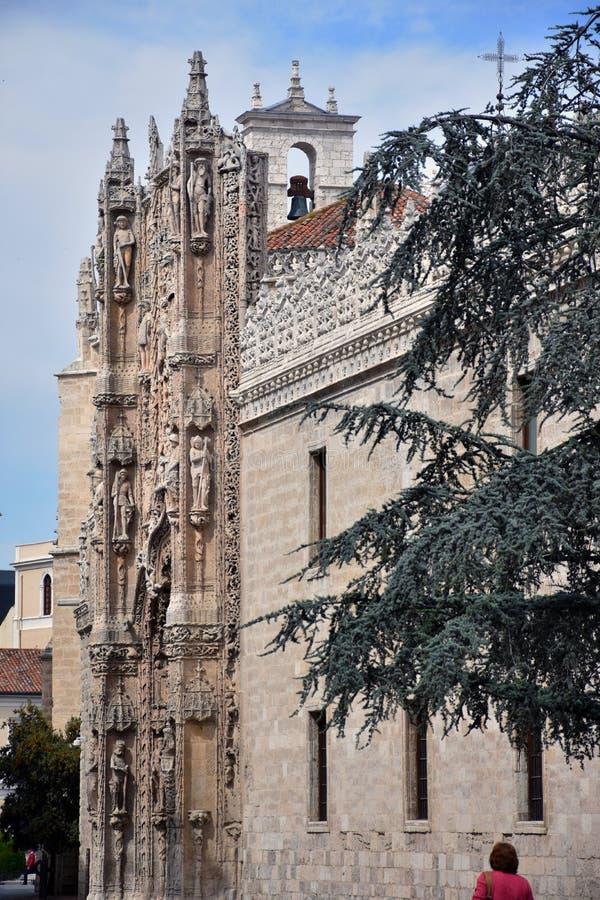 Igreja de San Pablo em Valladolid fotografia de stock