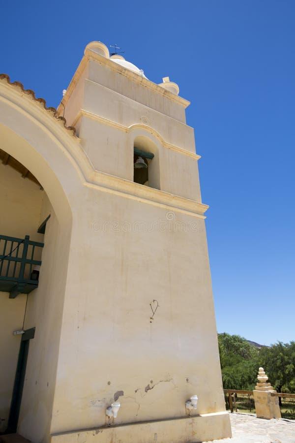 Igreja de San Pedro em Molinos, Argentina imagens de stock