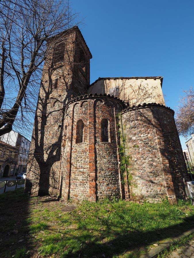 Igreja de San Pietro em Settimo Torinese fotografia de stock