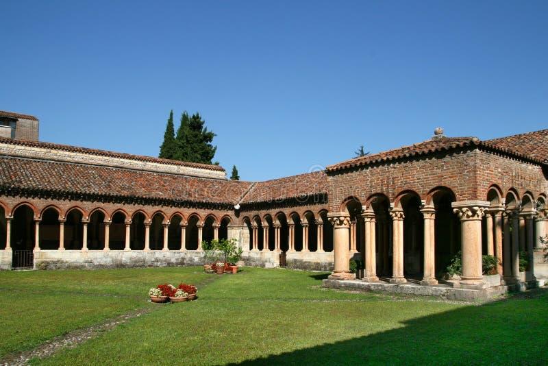 Igreja de San Zeno imagem de stock