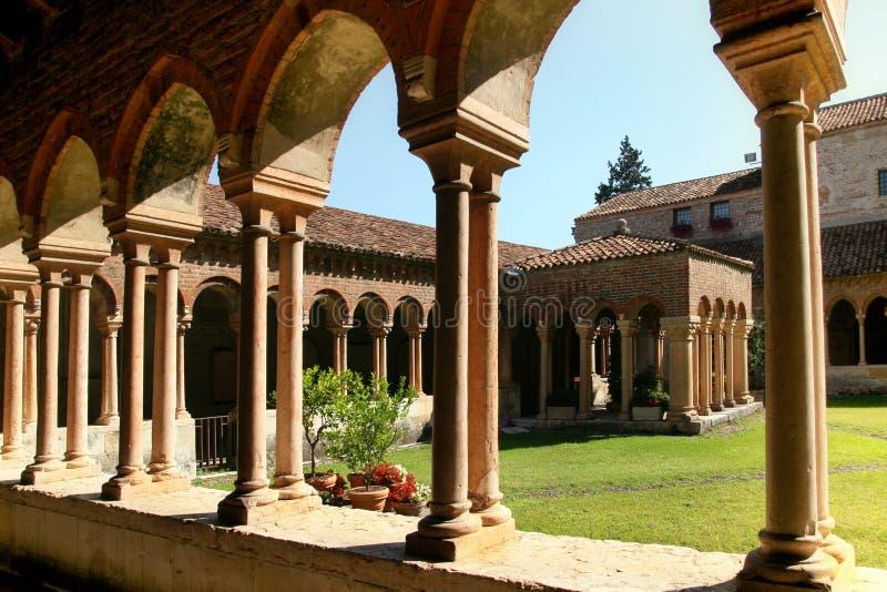 Igreja de San Zeno fotos de stock royalty free