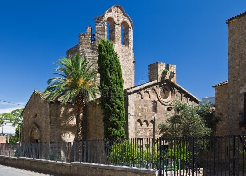 Igreja de Sant Pau del Acampamento foto de stock