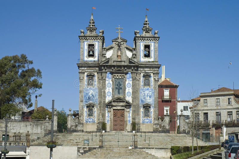 Igreja de Santa Clara em Porto, Portugal foto de stock royalty free