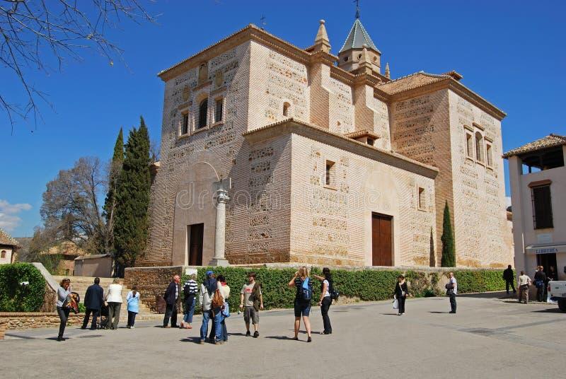 Igreja de Santa Maria, Alhambra Palace foto de stock royalty free