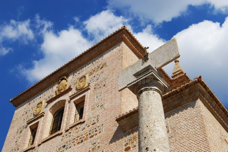 Igreja de Santa Maria, Alhambra Palace fotos de stock royalty free