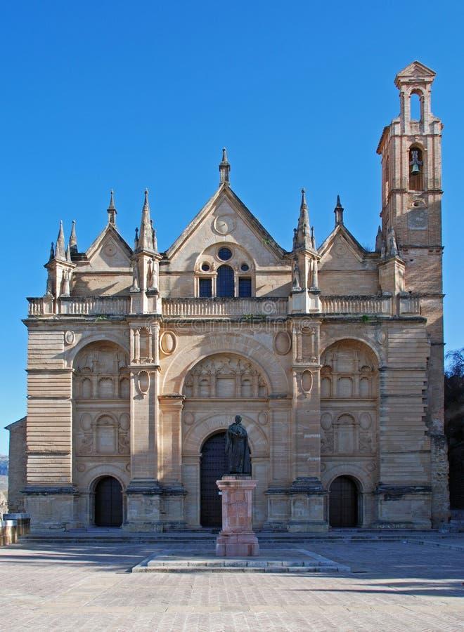 Igreja de Santa Maria, Antequera imagens de stock royalty free