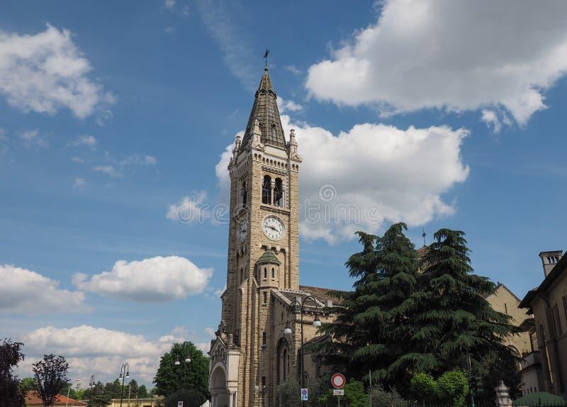 Igreja de Santa Rita da Cascia em Turin foto de stock royalty free