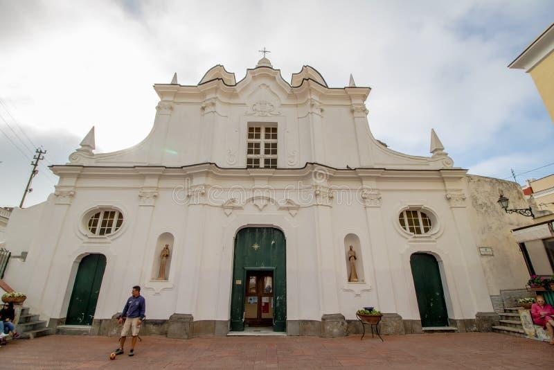 Igreja de Santa Sofia na ilha de Capri, Itália fotografia de stock royalty free