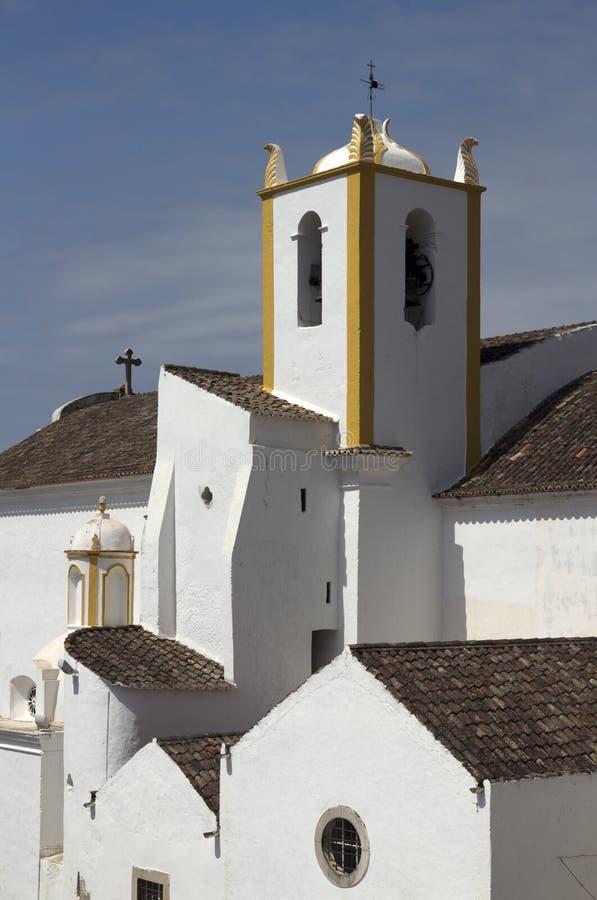 Igreja DE Santiago Santiago Church, Tavira, Portugal stock foto's