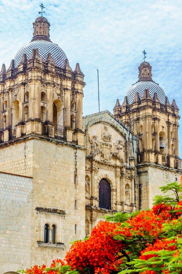 Igreja de Santo Domingo de Guzman em Oacaca - em México foto de stock royalty free