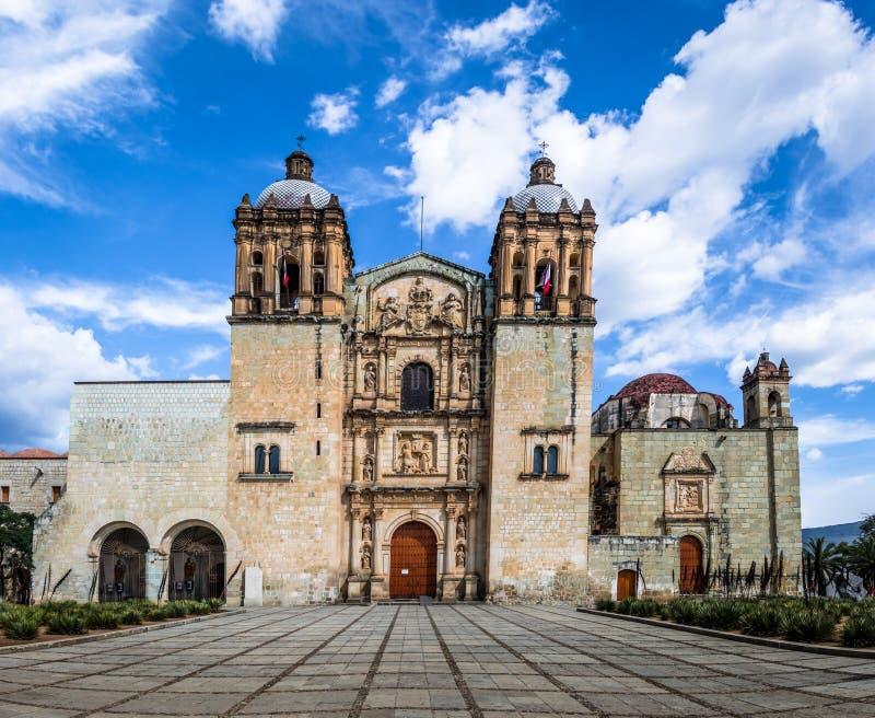 Igreja de Santo Domingo de Guzman - Oaxaca, México imagens de stock