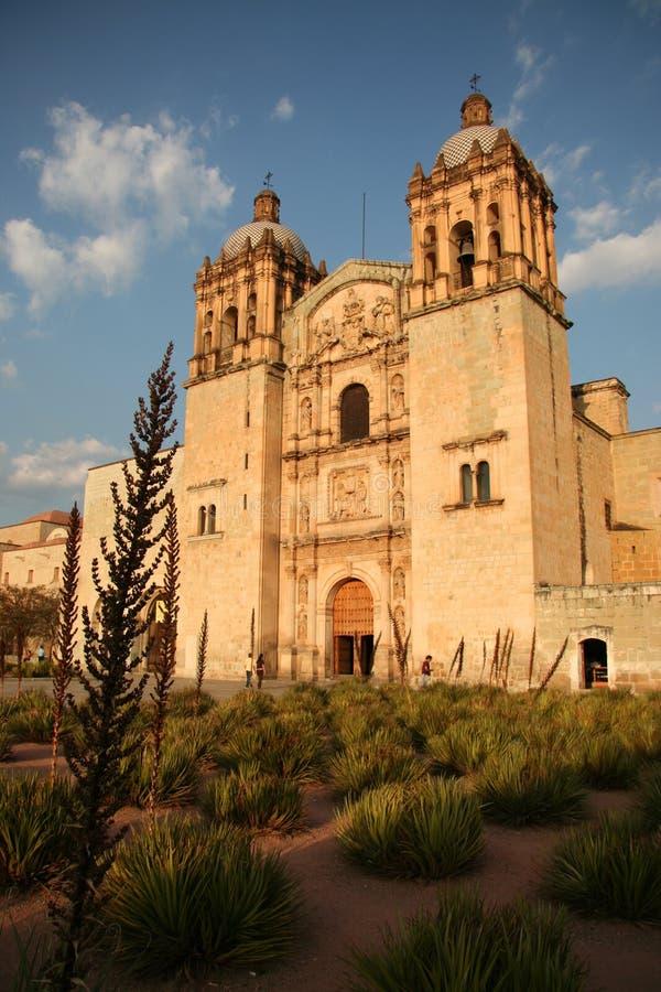 Igreja de Santo Domingo em Oaxaca imagem de stock royalty free