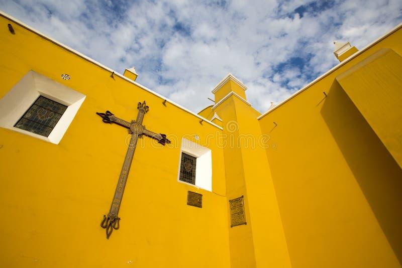 Igreja de Santo Domingo em Trujillo - Peru imagem de stock