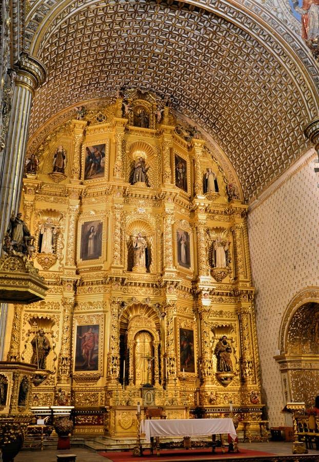 Igreja de Santo Domingo, Oaxaca imagens de stock royalty free