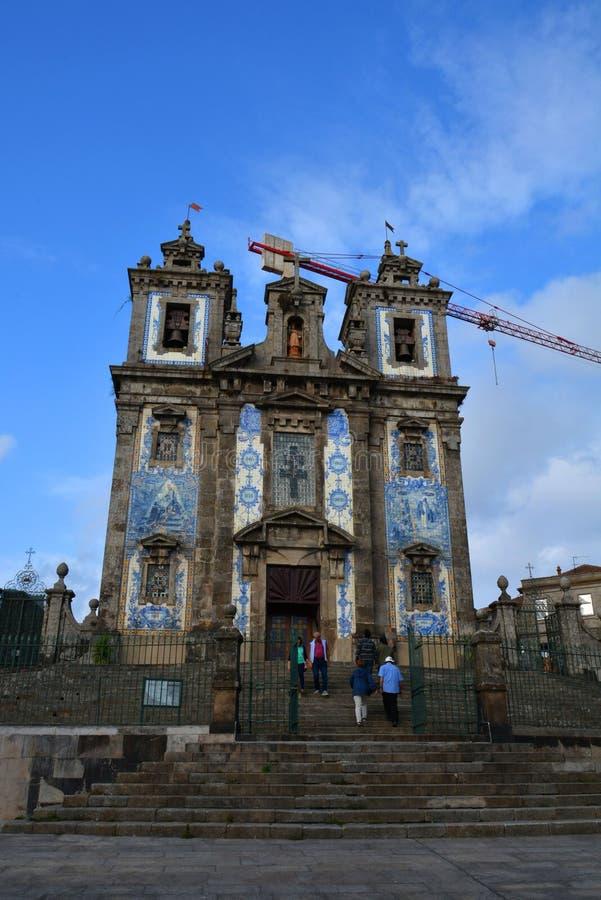 Igreja de Santo Ildefonso foto de stock royalty free