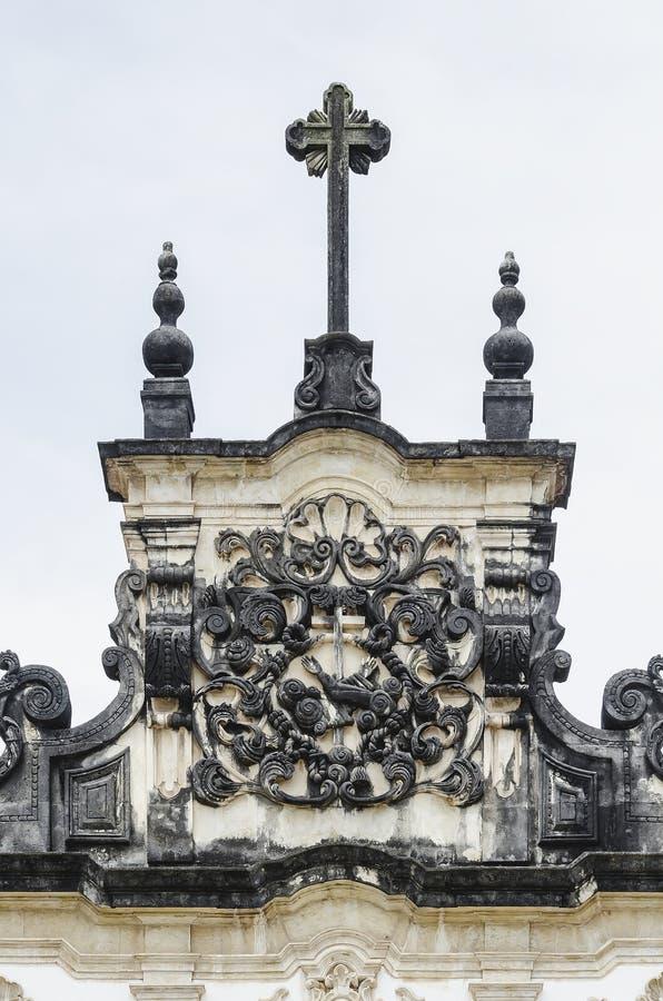 Igreja de Sao Francisco, PB Brasil de Joao Pessoa imagens de stock