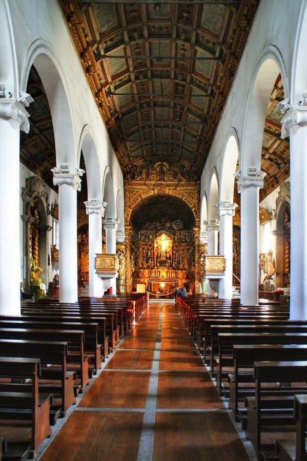 Igreja de Senhora a Dinamarca Hora em Matosinhos foto de stock