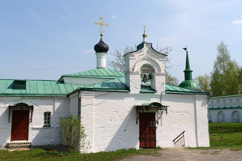 Igreja de Sretenskaya, Aleksandrov, Rússia foto de stock