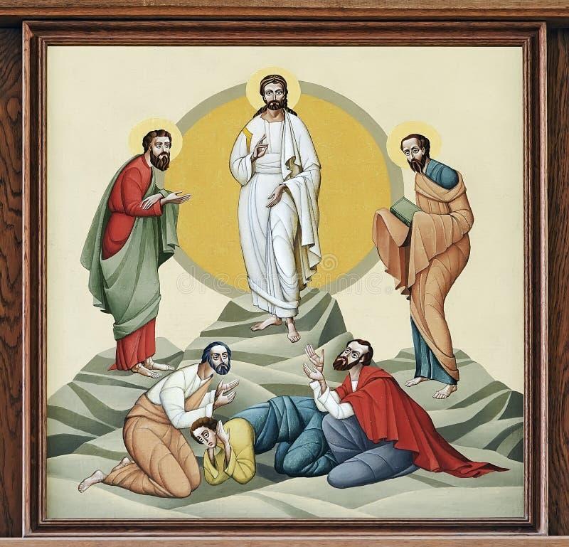 Igreja de St Anne - transfiguração fotografia de stock