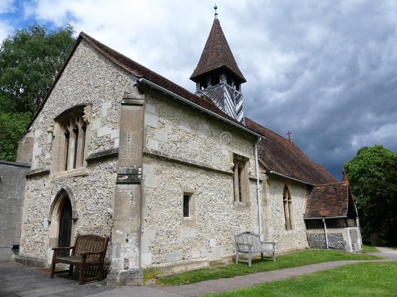 A igreja de St Bartholomew de Inglaterra, Wigginton imagens de stock royalty free