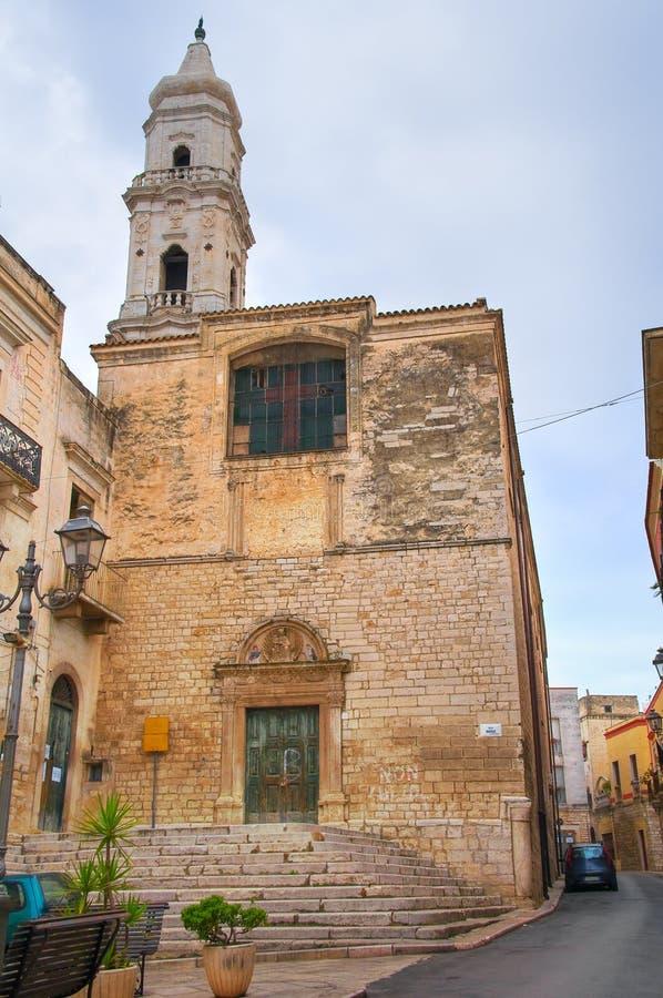 Igreja de St Domenico andria Puglia Italy foto de stock royalty free